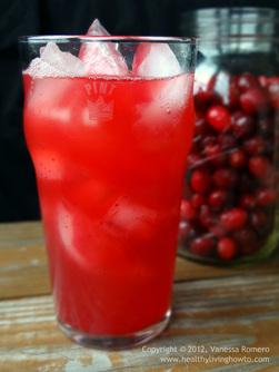 Sparkling Cranberry Juice