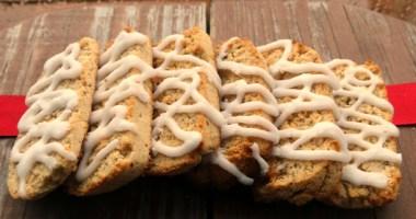 Vanilla Biscotti Cookies