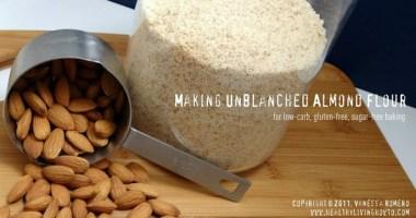 Making Almond Flour