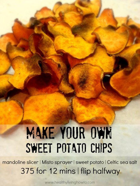 Make Your Own Sweet Potato Chips