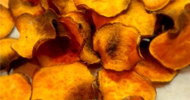 Healthy Recipe: Sweet Potato Chips