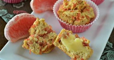 Healthy Recipe: Grapefruit Muffins
