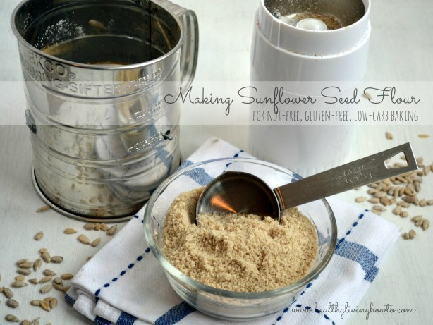 Making Sunflower Seed Flour