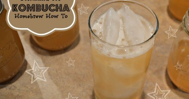 Kombucha: Homebrew How To