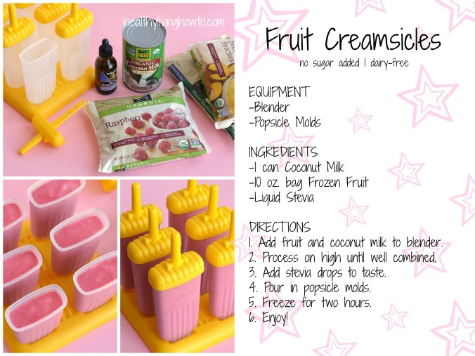 Fruit Creamsicles Recipe Card