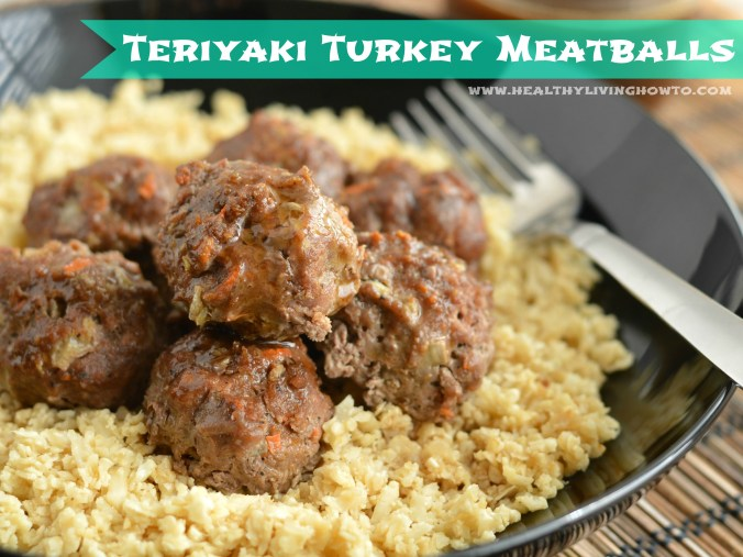 Turkey Teriyaki Meatballs
