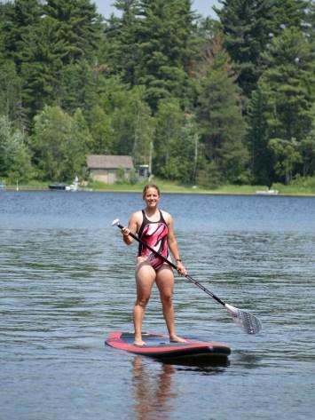 Paddle Boarding Jen