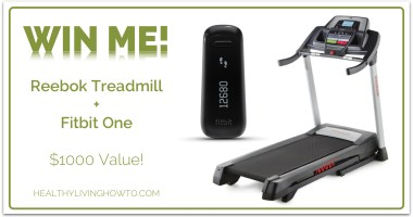 January Give Away: Reebok Treadmill + Fitbit One – $1000 Value