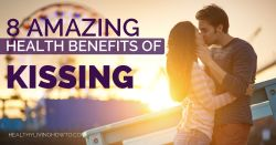 8 Amazing Health Benefits of Kissing | healthylivinghowto.com