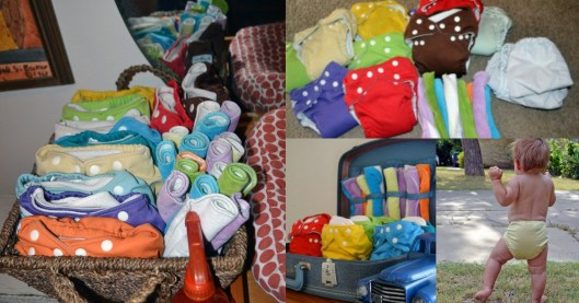 Cloth Diaper Collage