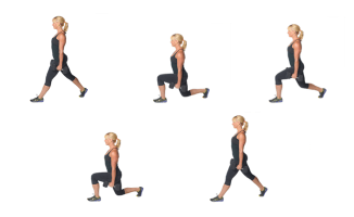 DB Split Squat with Pulse | healthylivinghowto.com