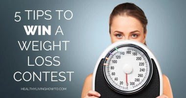 5 Tips to Win a Weight Loss Contest