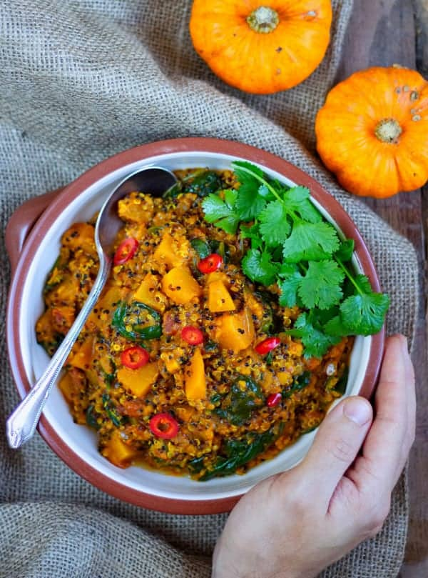 Pumpkin & Quinoa Curry