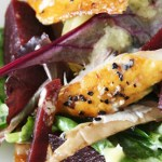 healthy mackerel beetroot salad
