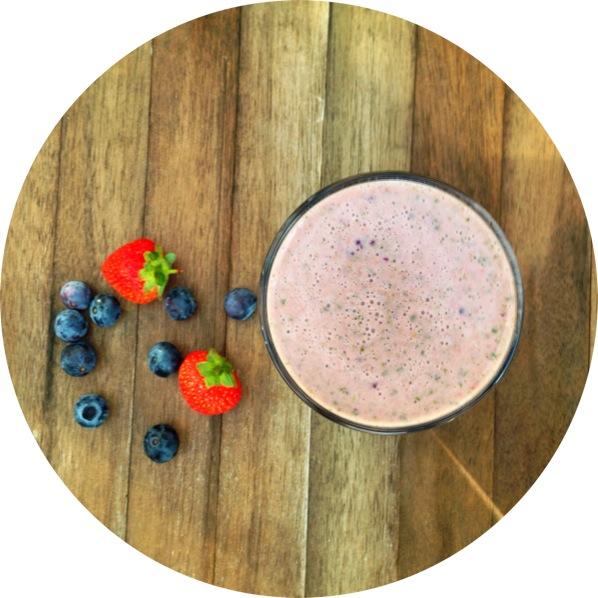 fresh berry milk recipe