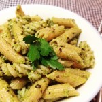 Healthier Homemade Pesto