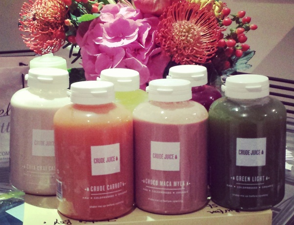 Crude Juice delivery….. The Tasting Box