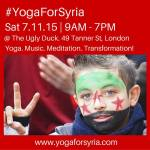 UPCOMING EVENT: Yoga For Syria