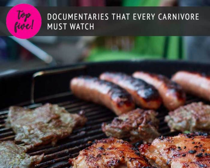 Top Five documentaries that every carnivore must watch
