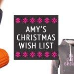 Amy's Christmas Wish List