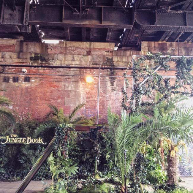 The urban jungle at the Southbank