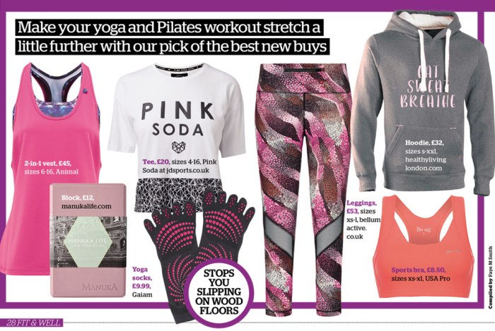 Fit and Well Magazine March - eat sweat breathe hoodies