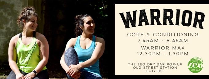Zeo Dry Bar - warrior class