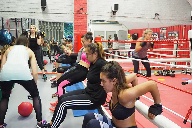 moreno boxing clapham - bloggers launch