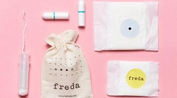HOT OFF THE PRESS: Freda Period Care
