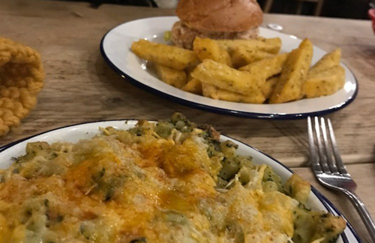 islington vegan food