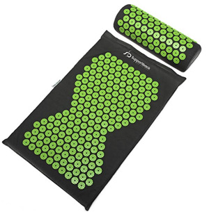 Acupressure mat health fitness list