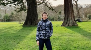 peak performance helium printed down jacket - Ashlie Groves