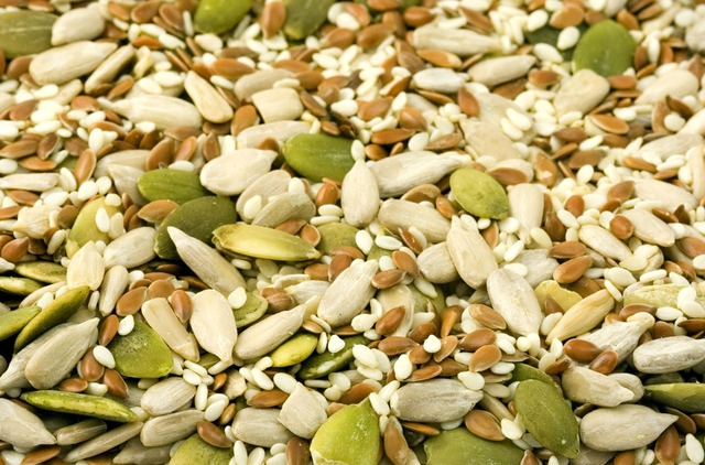 Snack with nuts and seeds to boost your daily zinc intake