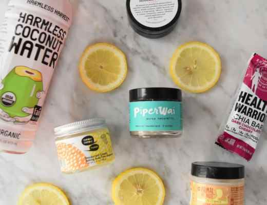 Picture of aluminum free paraben free natural deodorant creams and pastes: PiperWai charcoal deodorant from Shark Tank, Soapwalla, Meow Meow Tweet and Primal Pit Paste