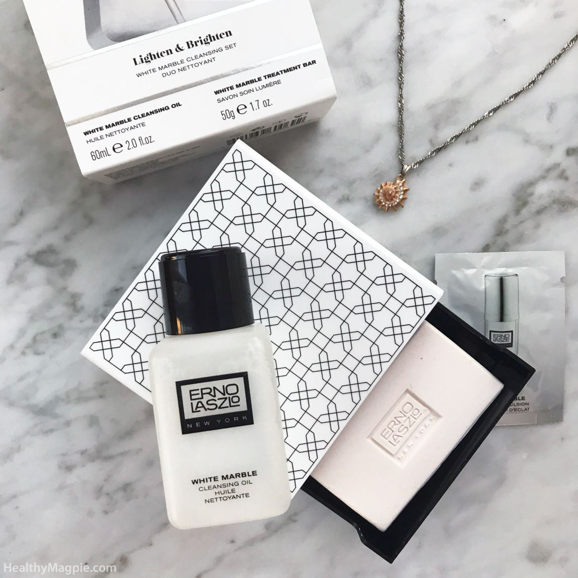 Erno Laszlo White Marble Brightening Cleansing Oil And