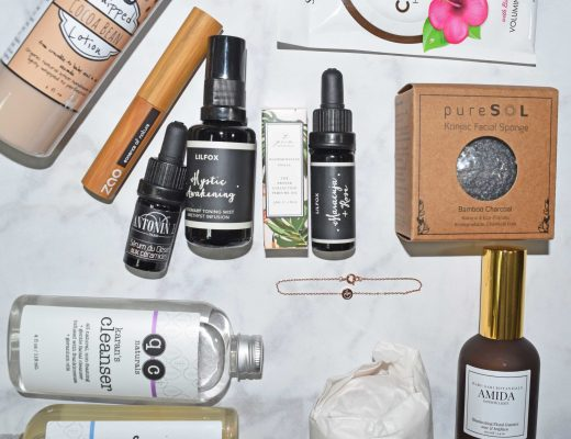 Picture of September 2016, October 2016 and November 2016 Glowing Beets Organic Monthly Beauty Subscription Boxes