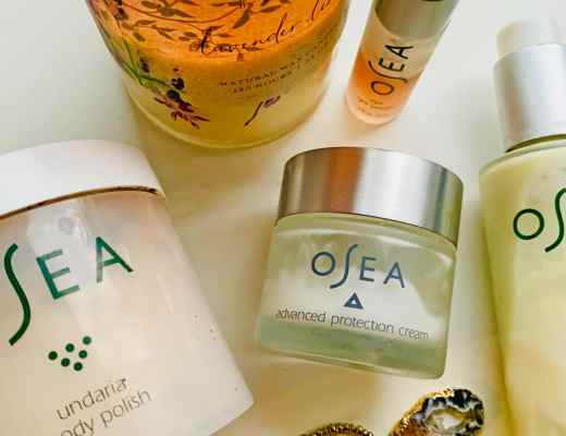 Osea Malibu orgnaic skin care reviews - Love the Osea Malibu advanced protection cream, ocean cleaner and eye gel.