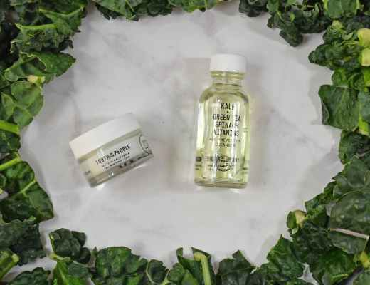 Youth to the People Natural Skin Care Kale, Green Tea, Spinach and Vitamins Anti-Aging Cleanser and Hyaluronic Acid Face Cream Review and Pictures