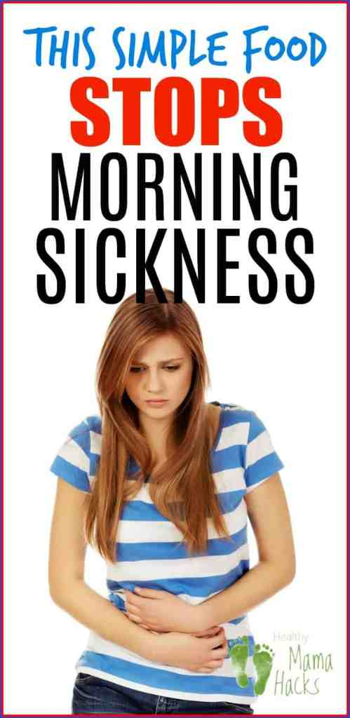 Get fast relief from your morning sickness (or all day sickness) with these foods that fight nausea during pregnancy.  These natural food remedies will STOP pregnancy nausea fast!  Learn tips for what to eat during pregnancy and how to get rid of morning sickness during the first trimester and beyond.  #pregnancynausea, #morningsickness, #alldaysicknessduringpregnancy