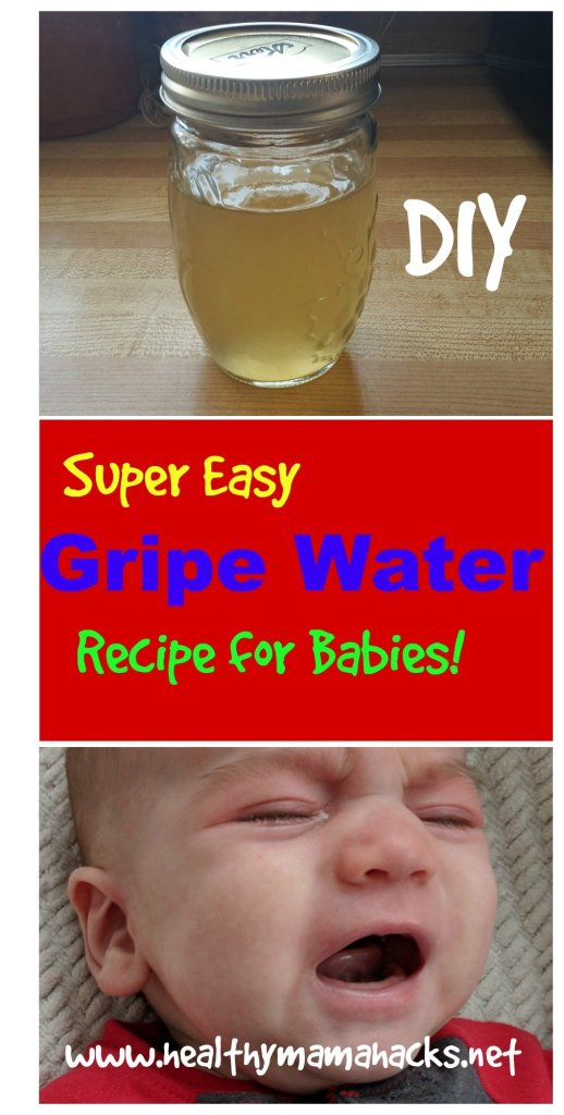 homemade gripe water recipe