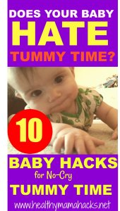 10 Hacks for Tummy Time