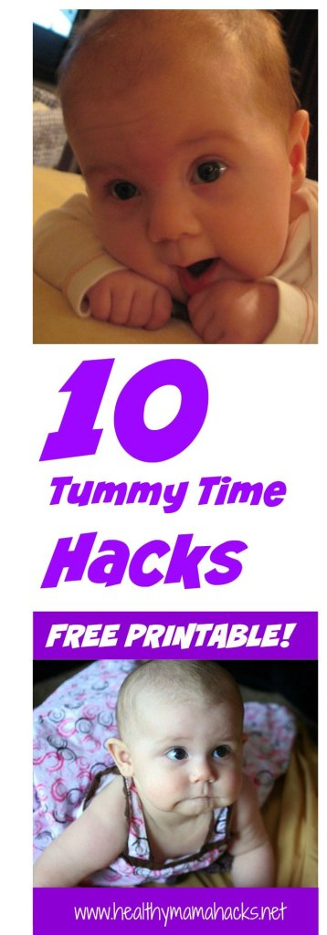 10 hacks for No-Cry Tummy Time!