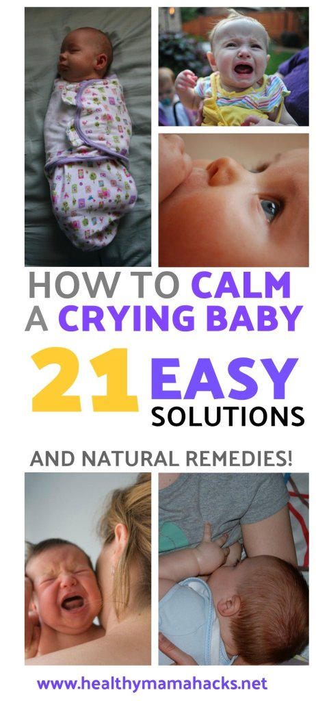 Learn great tips for how to calm a crying baby!
