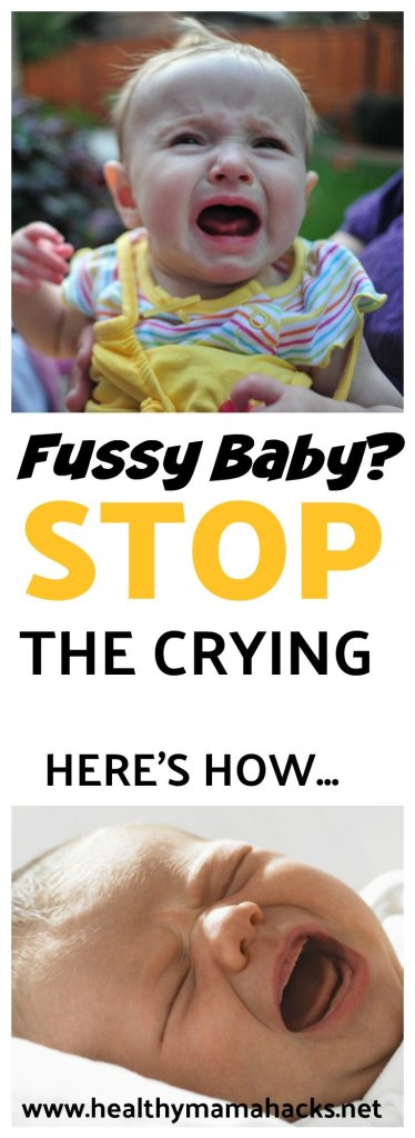 "Your fussy or ""colicky"" baby may actually be an overtired baby instead. Find out more and how to help!"