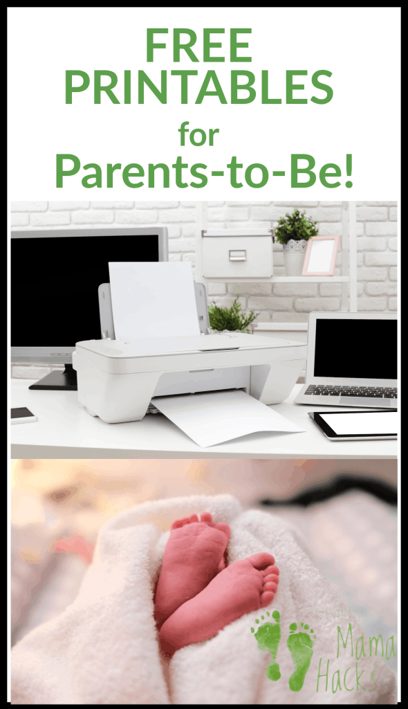 Download these printable freebies to help you get ready for your new baby and postpartum recovery. #newbaby, #newparentfreebies, #postpartumprintable