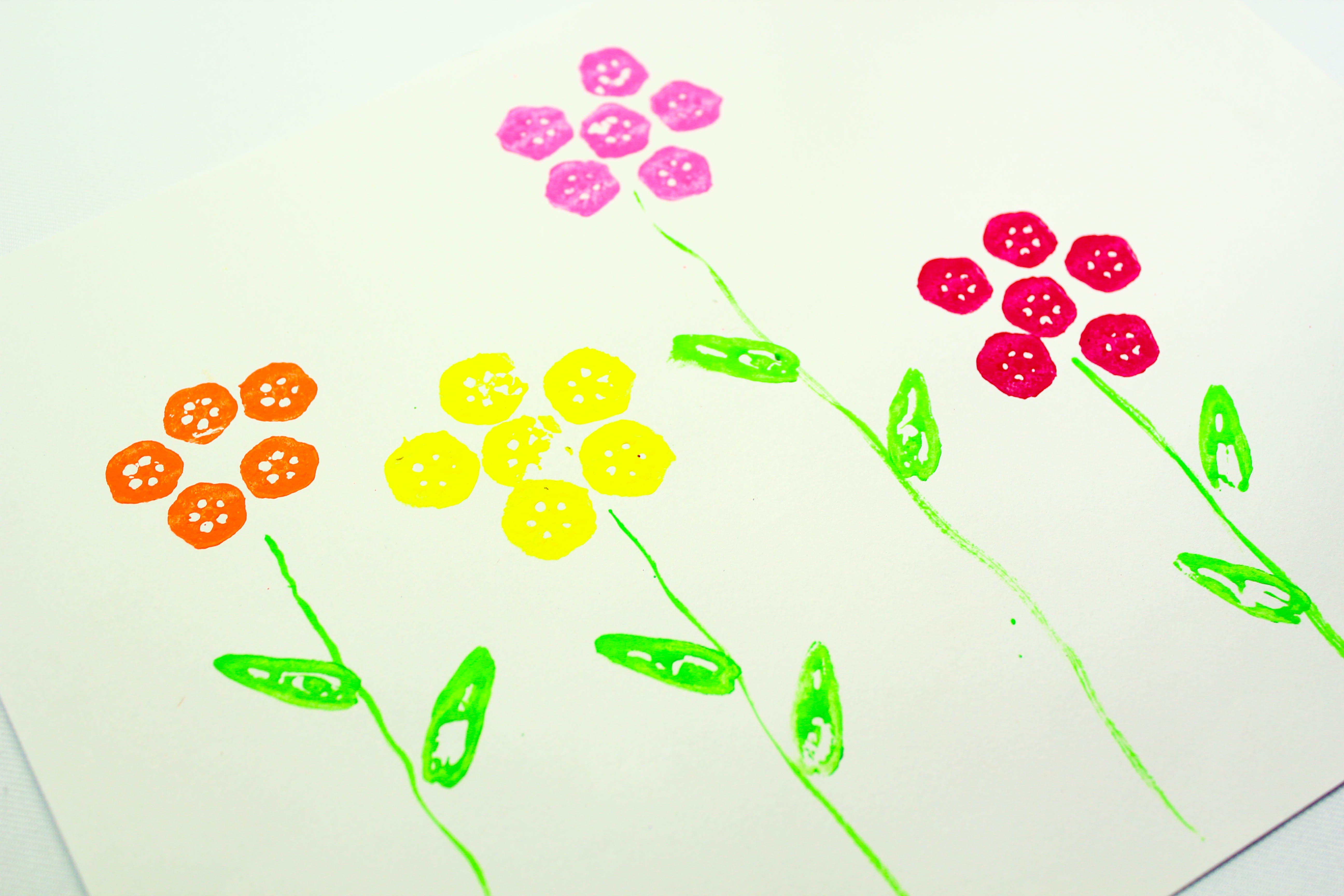 9 Vegetable Arts And Crafts Projects