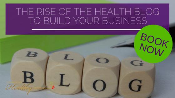Blogging for Health Businesses