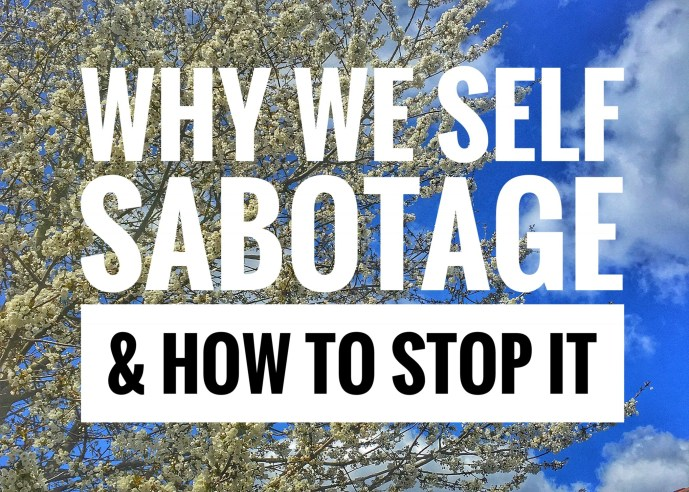 Self sabotage can lead to depression and anxiety, loss of friends, can affect our self esteem and leave us feeling guilty. Learn how to conquer it!