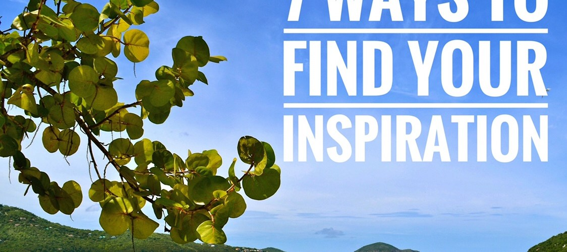 How to find inspiration in life through music, nature, podcasts, people and more, so that you can live each day with a positive and motivated mindset