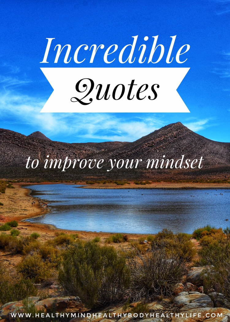 Quotes to improve your mindset
